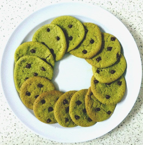 Super delicious Matcha Chocolate Chip Cookies made with the earthy matcha powder, creating a delightful bitter-sweetness for the cookies