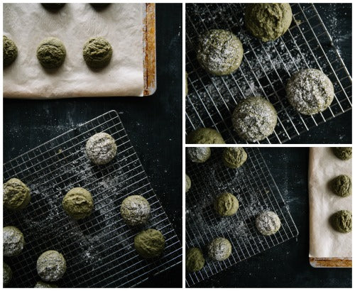 Matcha Green Tea Cake Cookies Recipe makes the soft, delicious and sweet treats for your loved ones