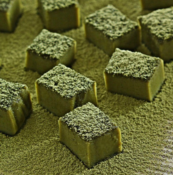 Easy, adorable and delicious truffle matcha brownies will definitely melt your heart!