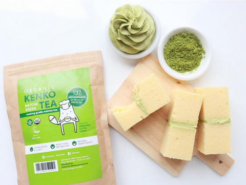 Kenko Matcha Cooking Grade is to use for cooking, baking, and mixing beverages
