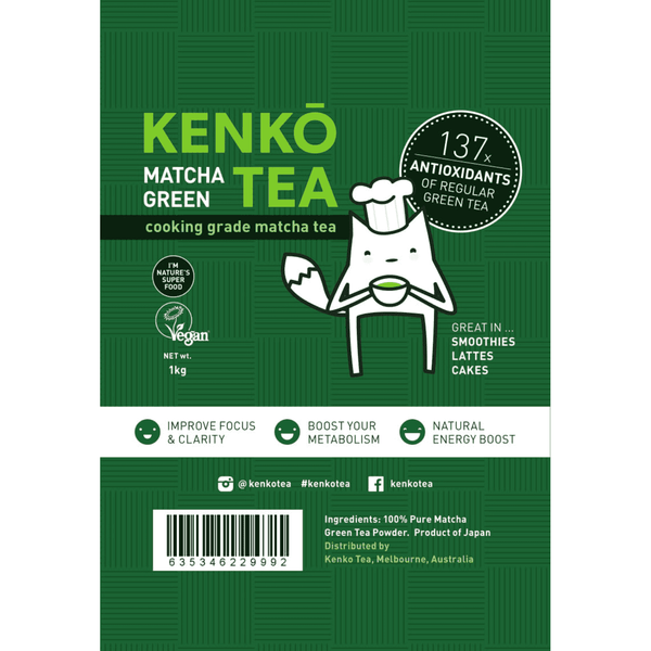 Classic Cooking Grade Matcha Tea - 1kg