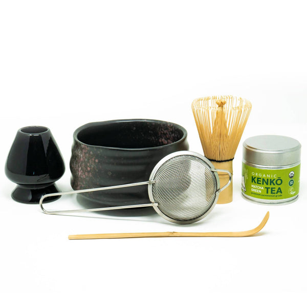 Matcha Tea Gift Set with Box - 6 Piece