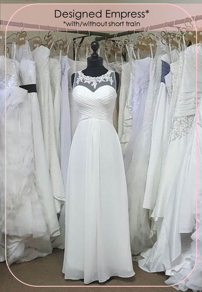 Designed Empress Wedding Dress