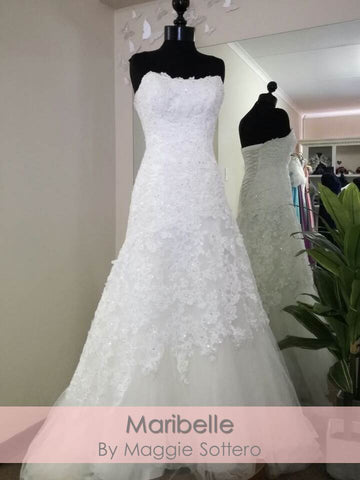 Mirabella by Maggie Sottero (size 8/32-36)