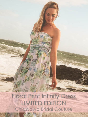 LIMITED EDITION Spring Floral Infinity Dress