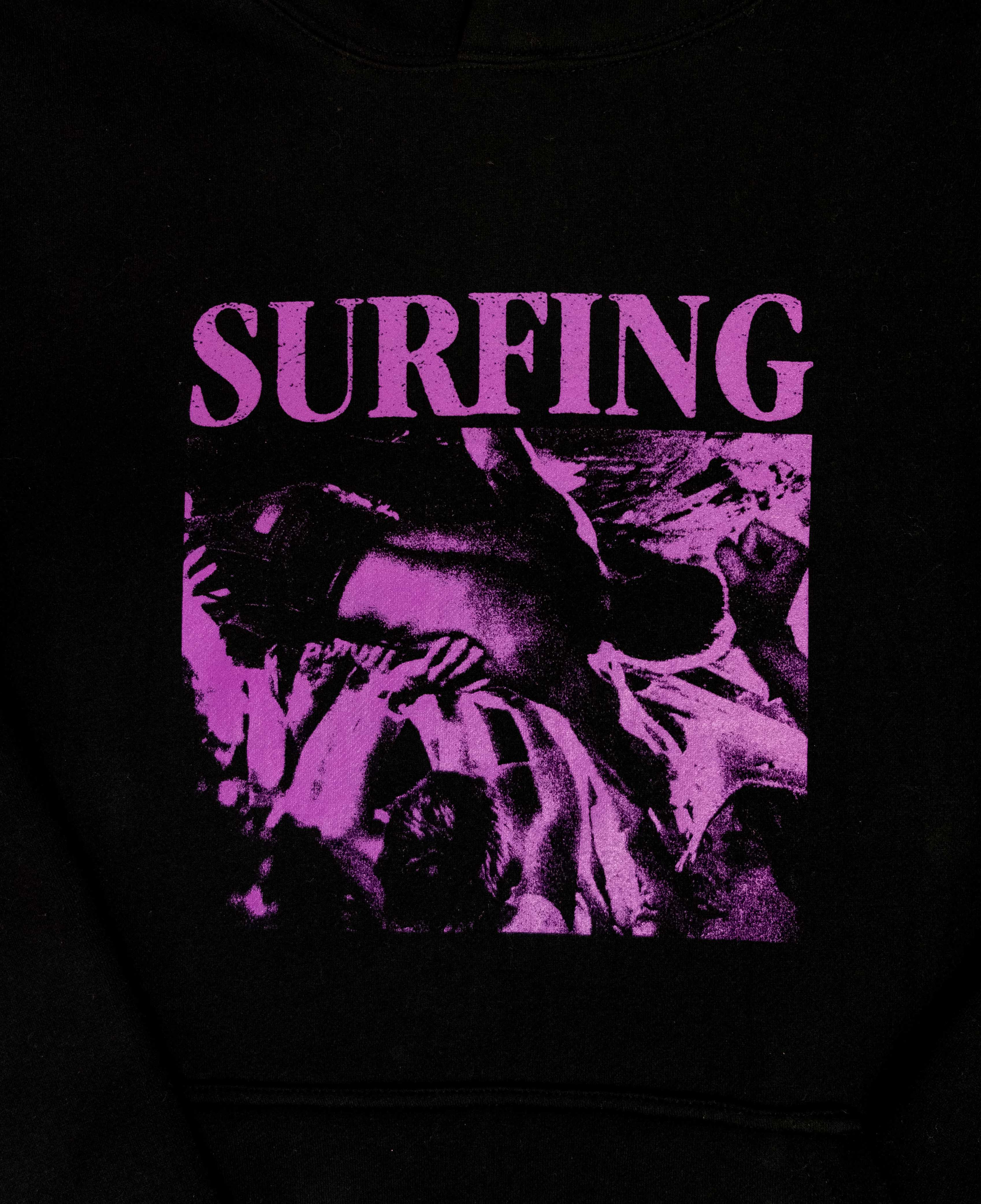 Surfing Tee Black/Purple