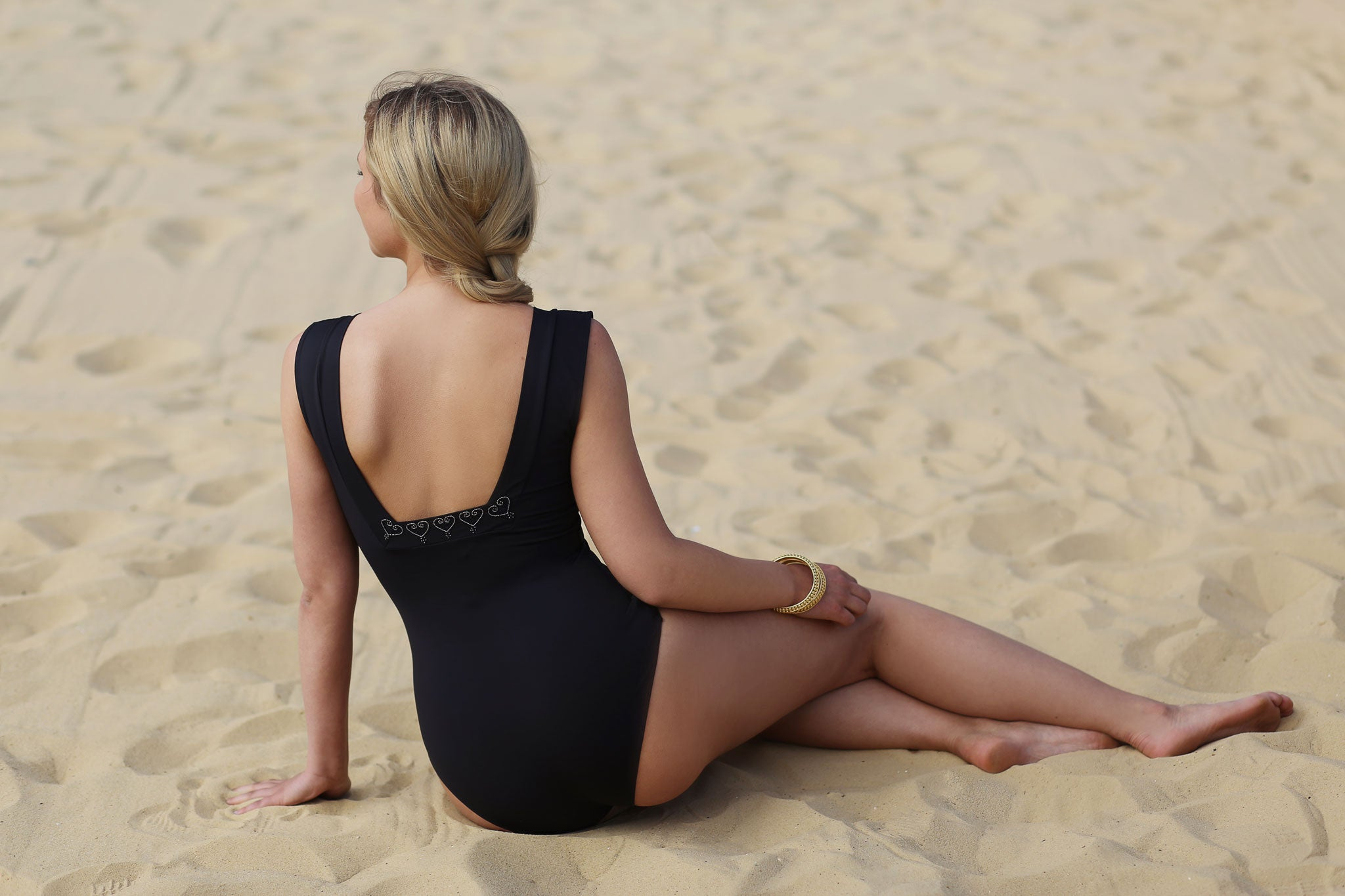 Rose Swimsuit Brighton Volleyball Courts Sassi Swimwear