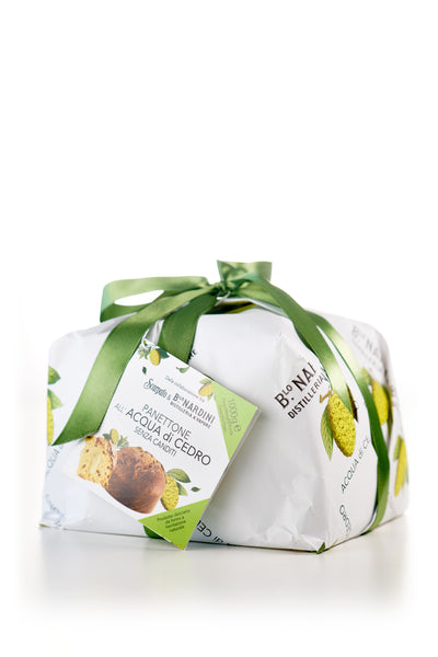 PANETTONE all'ACQUA DI CEDRO