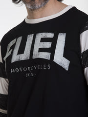 "Fuel t-shirt ""STRIPES"" long sleeve"