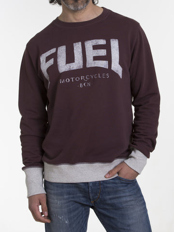 "Fuel sweatshirt ""BORDEAUX"""