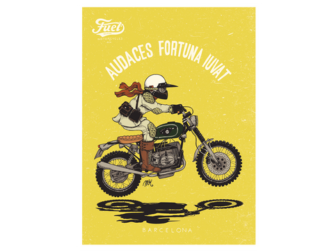 FUEL R80 STRIAL POSTER