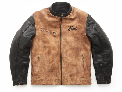 "FUEL ""SIDEWAZE"" BLACK JACKET"