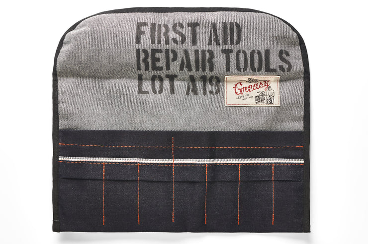 FUEL TOOL ROLL FIRST AID KIT