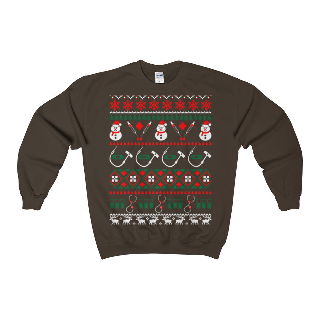 nurse doctor medical assistant ugly christmas sweatshirt - Vietees Shop Online