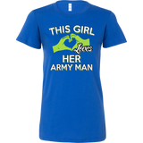 This Girl loves her army man T-shirt - Vietees Shop Online