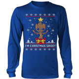 Christmas Groot ugly sweater T-Shirt - Vietees Shop Online