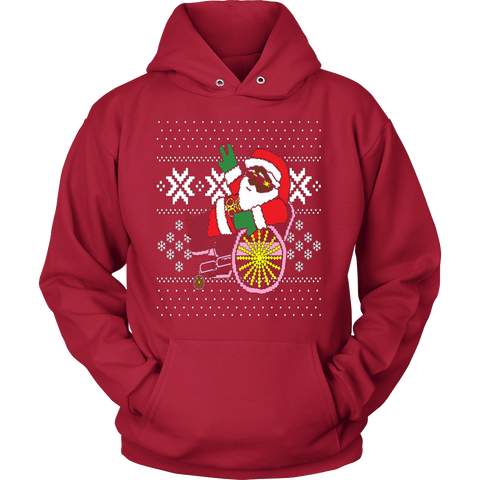 2 Chainz ugly Christmas sweater trapping Santa T-shirt - Vietees Shop Online