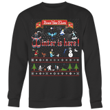 Winter is here ugly Christmas sweater T-shirt - Vietees Shop Online
