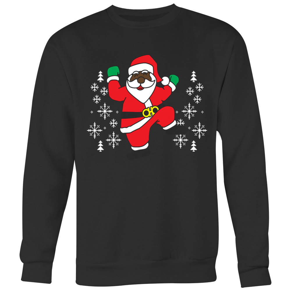 2 Chainz Ugly Christmas Sweater Dancing Santa T Shirt Vietees Shop