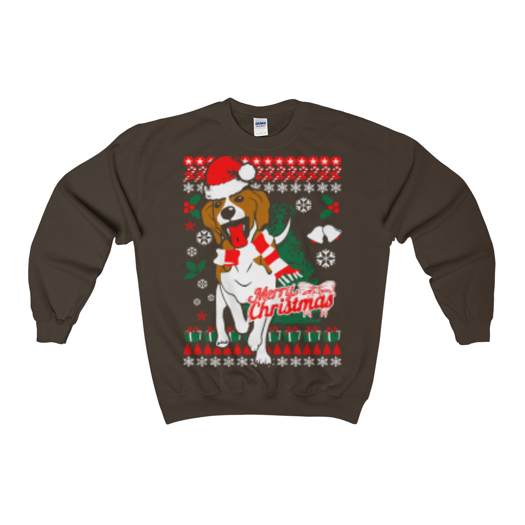 Beagle Dog Ugly Christmas Sweatshirt Holiday Xmas - Vietees Shop Online