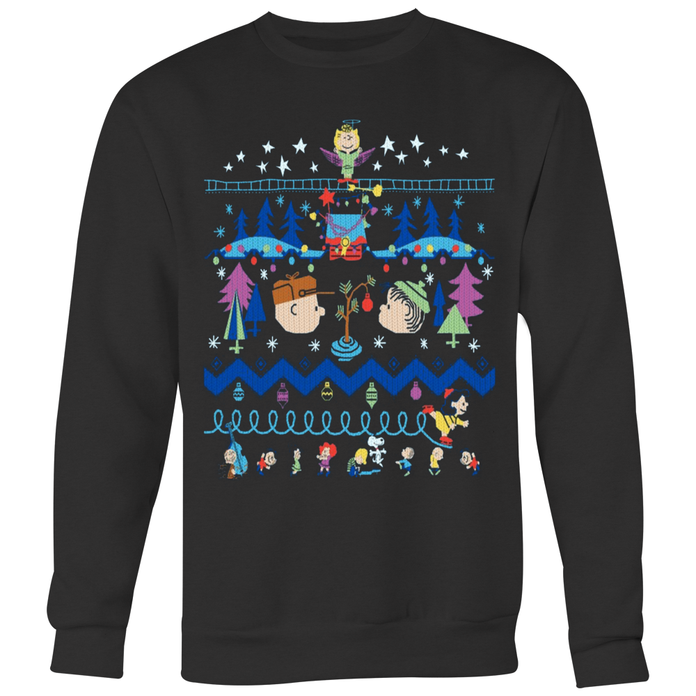 Peanuts Ugly Christmas Sweater T-shirt - Vietees Shop Online