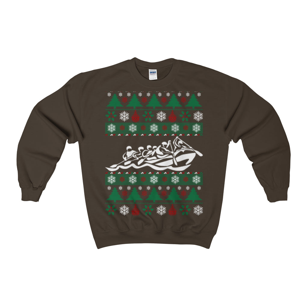 rafting ugly christmas sweatshirt - Vietees Shop Online