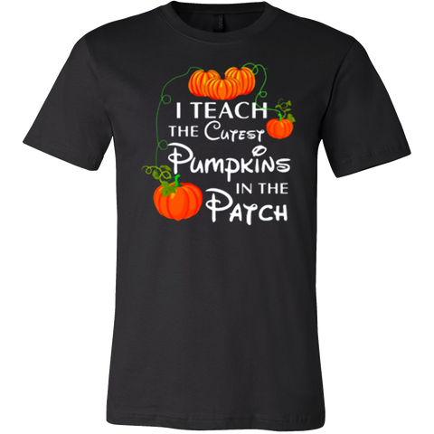 I teach the cutest pumpkin in the patch funny t-shirt - Vietees Shop Online
