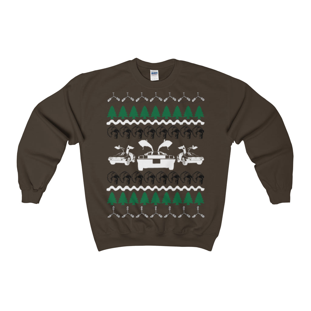 back to the future ugly christmas sweatshirt - Vietees Shop Online