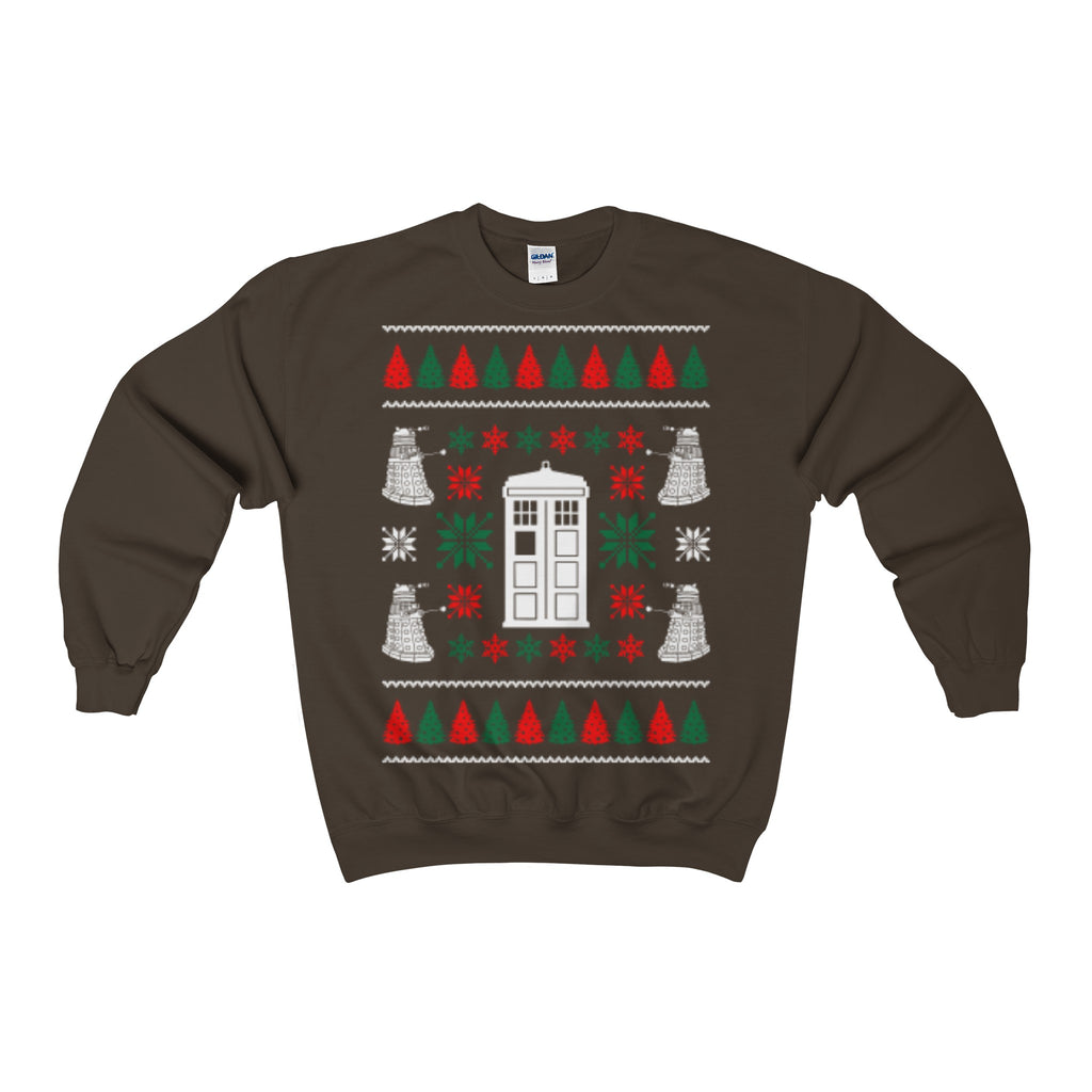 dr who doctor ugly christmas sweatshirt xmas - Vietees Shop Online