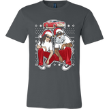 Funny Santa Clause Couple T-shirt - Vietees Shop Online