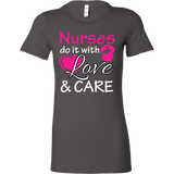 Nurses do it with Love and Care T-shirt - Vietees Shop Online