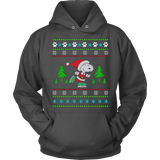 Snoopy on Skate Ugly Christmas Sweatshirt & Hoodie - Vietees Shop Online