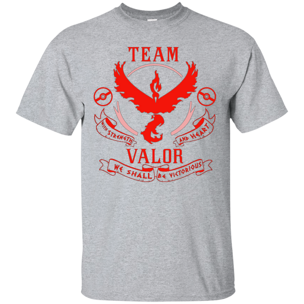 TEAM VALOR - POKEMON GO T-SHIRT - Vietees Shop Online
