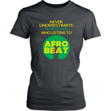 Never underestimate a Mother who listens to an Afrobeat T-shirt - Vietees Shop Online