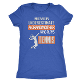 Never underestimate a Grandmother who plays Tennis T-shirt - Vietees Shop Online