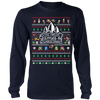 Image of 12 Games of Christmas Ugly Christmas Sweater T-shirt - Vietees Shop Online