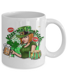Kiss me I'm Irish Mug - Vietees Shop Online