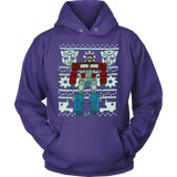 Official Transformers Optimus Prime Ugly Christmas Sweater T-shirt - Vietees Shop Online