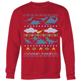 My Grandma Likes Dinosaurs Ugly Christmas Sweater T-shirt - Vietees Shop Online