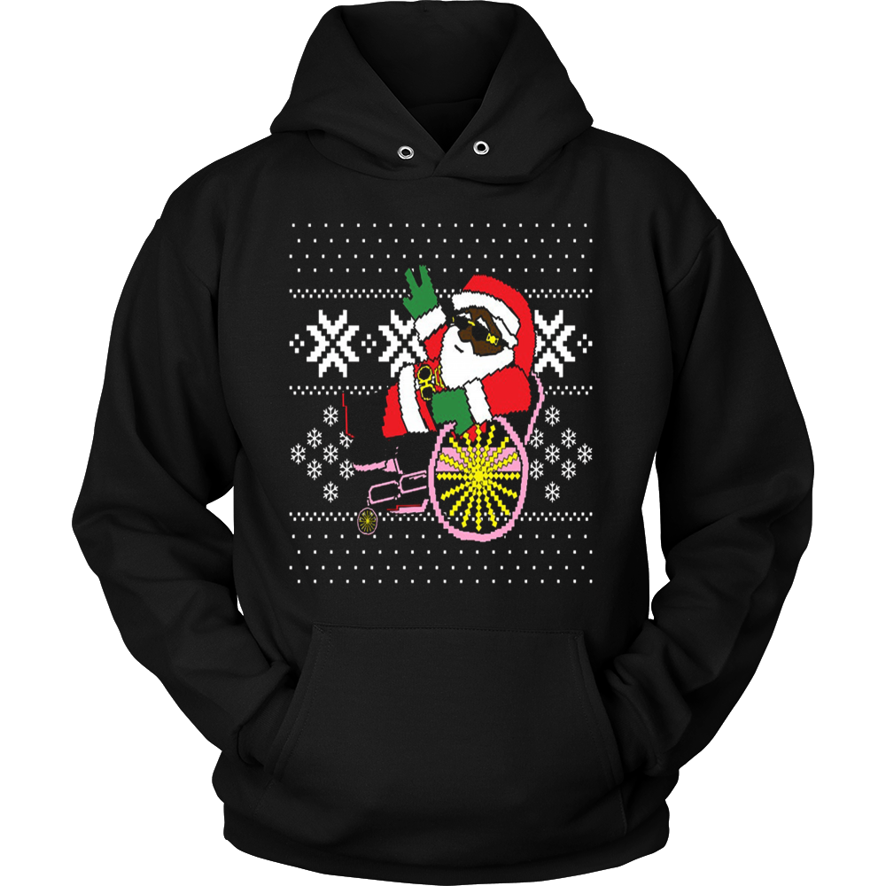 2 Chainz Ugly Christmas Sweater Trapping Santa T Shirt Vietees