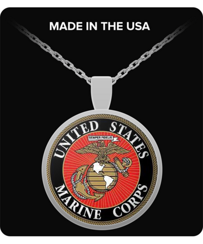 US MARINE CORPS NECKLACE - Vietees Shop Online