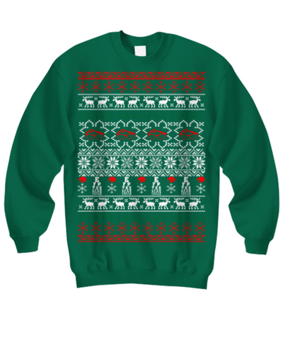 optician ophthalmologist ugly christmas sweater - Vietees Shop Online
