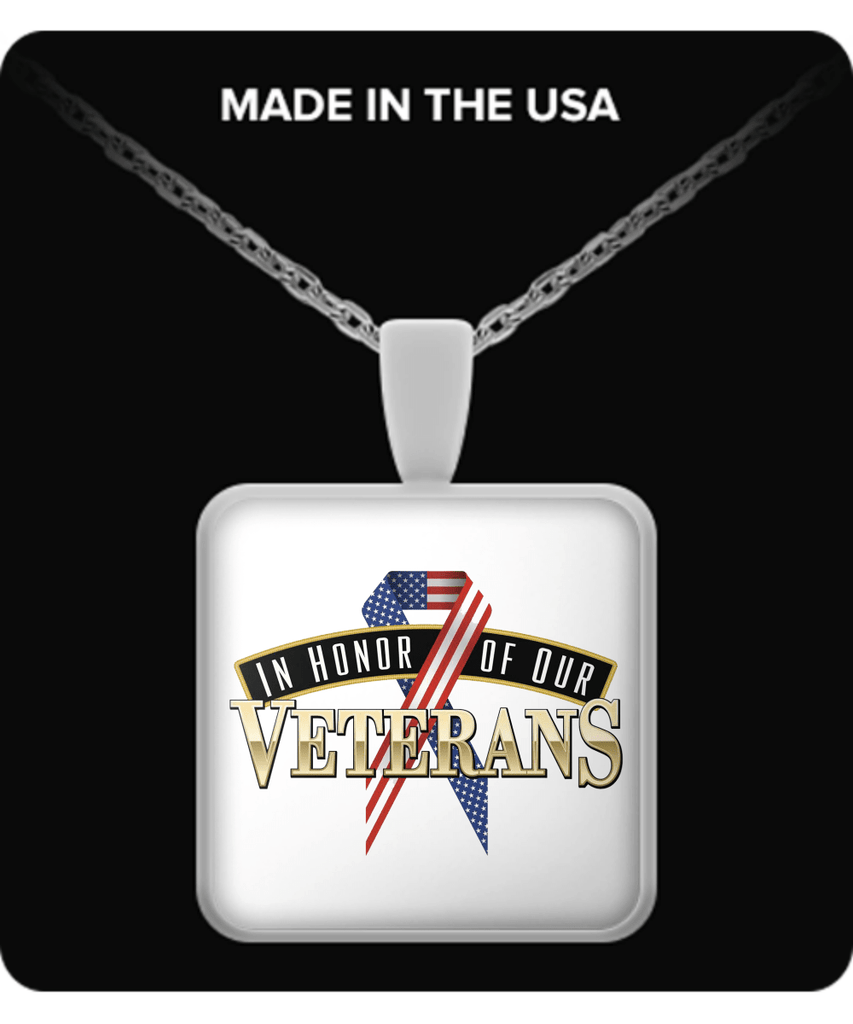 IN HONOR OF OUR VETERANS - NECKLACE - Vietees Shop Online