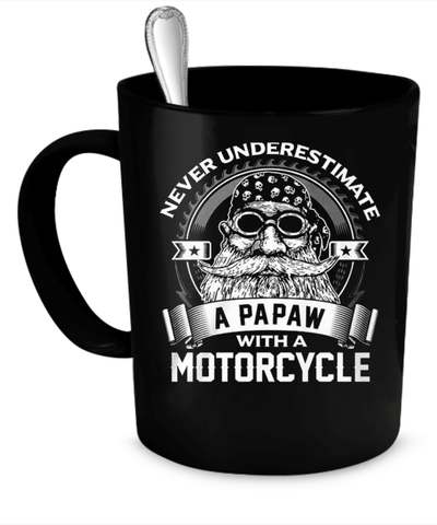 A PAPAW WITH A MOTORCYCLE - Vietees Shop Online