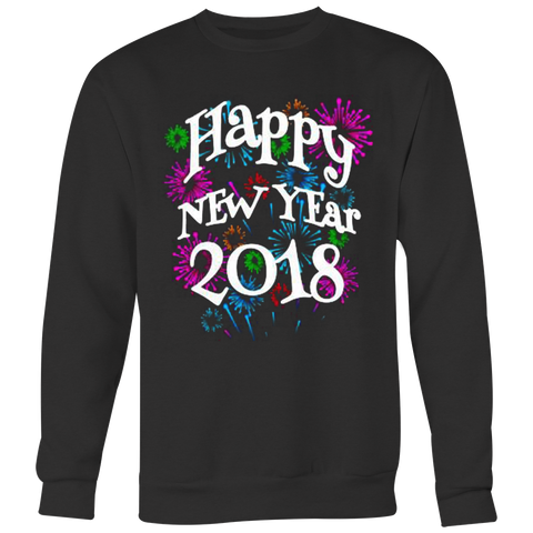 Happy New Year 2018 T-shirt - Vietees Shop Online