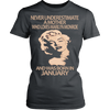 Image of Never Underestimate a Mother who loves Marilyn Monroe and was born in January T-shirt - Vietees Shop Online