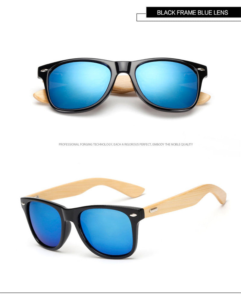 Wholesale Price Bamboo Foot Sunglasses Men Wooden Sunglasses Women Brand Designer Original Wood Sun Glasses 2016 Hot KP1501 - Vietees Shop Online