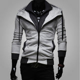 2016 Autumn Cardigan Men Hoodies Jacket Brand Clothing Fashion Hoodies Man Casual Slim Hoody Sweatshirt Sportswear Zipper Hoodie - Vietees Shop Online