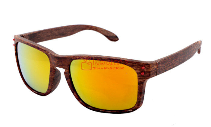 Hot Selling Brand Wood Sunglasses Men Fashion Brand Designer Square Plastic Frame Outdoor Sun Glasses Male Gafas de sol - Vietees Shop Online