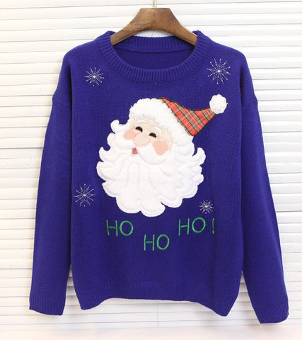 2016 winter knitted ugly christmas jumper women sweater ladies jumpers sweaters and pullovers fake mink cashmere knitwear coat - Vietees Shop Online